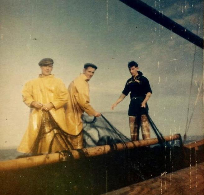Dauntless hailing nets 1962